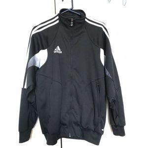 ADIDAS Boys Track Jacket X-Large XL 18/20 Black